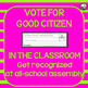 Good Citizen Award and More! Great for Back to School!