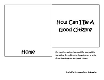 Good Citizen Flip Book