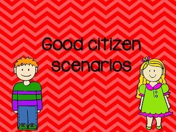 Good Citizen Scenarios