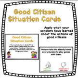 Good Citizen Situation Cards - Distance Learning!