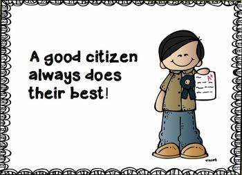 Good Citizen Smart Board Presentation