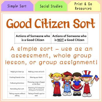 Good Citizen Sort