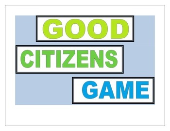 Good Citizens Game