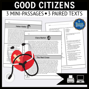 Good Citizens Reading Passages