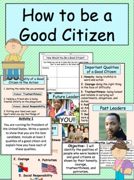 Good Citizens and Leaders