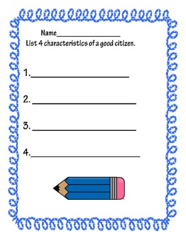 Good Citizens assessment