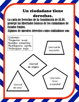 Good Citizens in Spanish - Buenos Ciudadanos