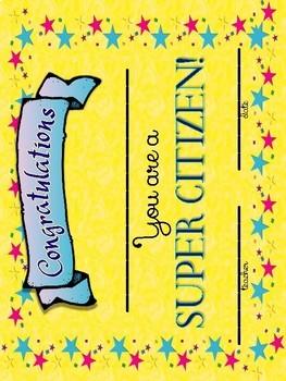 Good Citizenship Mini-Book & Writing Activities