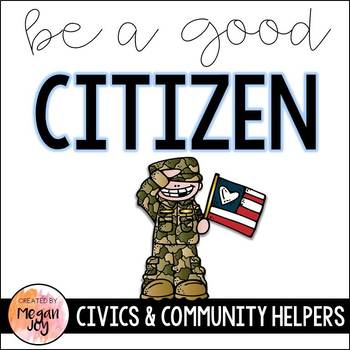 Good Citizenship Mini-Book & Writing Activities