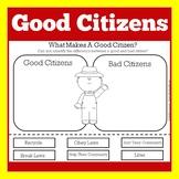 Good Citizen | Being A Good Citizen | Kindergarten 1st 2nd