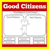 Good Citizenship Activity Worksheet