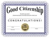 Good Citizenship Award