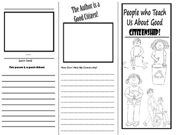 Good Citizenship Brochure - Folleto de buena ciudadanía (SPANISH and ENGLISH)