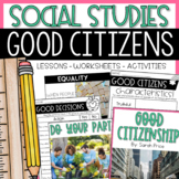 Good Citizenship Activities and Worksheets
