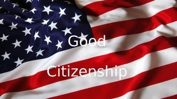 Good Citizenship PowerPoint