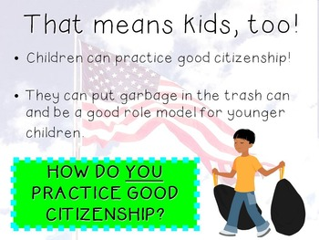 Good Citizenship PowerPoint Presentation