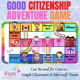 Good Citizenship & Social Skills - Being a Good Citizen - Interactive task game