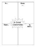 Good Classmate Activity/Poster (Editable)