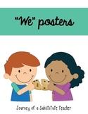 Good Classroom Behaviors Posters {FREEBIE}
