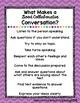 Good Collaborative Conversation Poster - Wonders McGraw Hill 2nd-3rd Grade