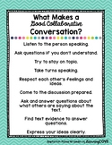Good Collaborative Conversation Poster - Wonders McGraw Hill 2nd-3rd Grade