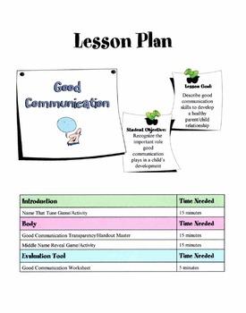 Good Communication Skills Lesson