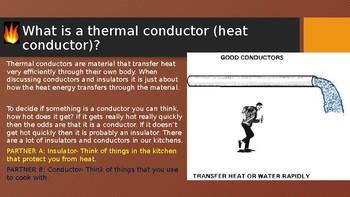 Good Conductors and Poor Conductors SC.4.P.11.2