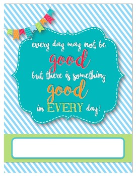 Good Day Binder Cover