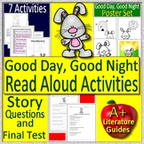 Good Day, Good Night by Margaret Wise Brown Read Aloud Activities and Posters