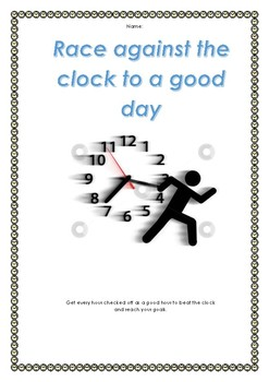 Good Day Race Behaviour Management Booklet