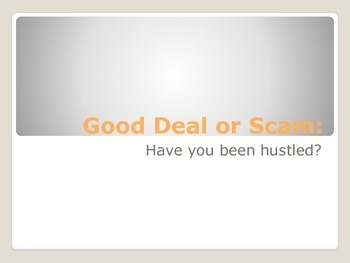 Good Deal or Scam? A Life Lesson in Close Reading