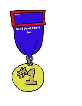 Good Deed Award