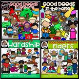 Good Deeds All Around Clipart -Growing Bundle