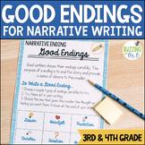 Good Endings Narrative Writing Minilesson Unit