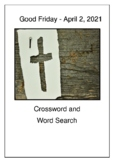 Good Friday Crossword Puzzle and Word Search Bell Ringer
