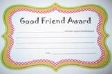 Good Friend Award