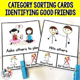 Free Friendship Activities Sorting Categories
