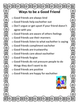 Good Friends Packet