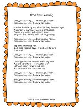 Good, Good Morning Song & Good-Bye Song