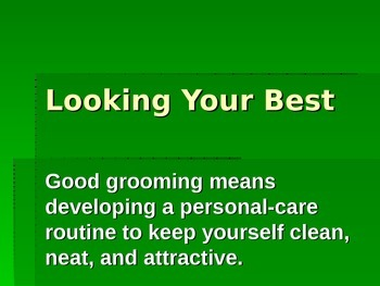 Good Grooming Power Point