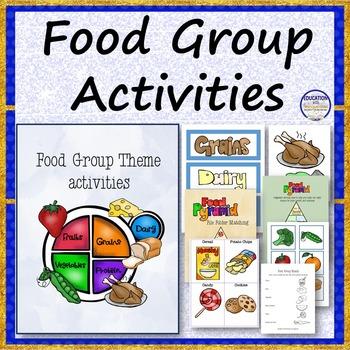 FOOD GROUP Theme Bundle