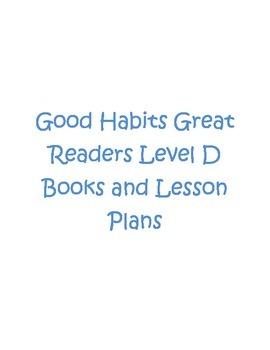 Good Habits Great Readers