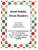 Good Habits, Great Readers Unit 2, Week 2 Guided Reading C