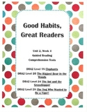 Good Habits, Great Readers Unit 2, Week 4 Guided Reading C