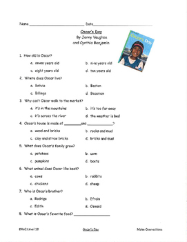 Good Habits, Great Readers Unit 3 Guided Reading Comprehension Tests BUNDLE