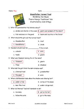 Good Habits, Great Readers Unit 3, Week 1 Guided Reading Comprehension Tests