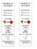 Good Habits for Solving Words Bookmark Unit 2