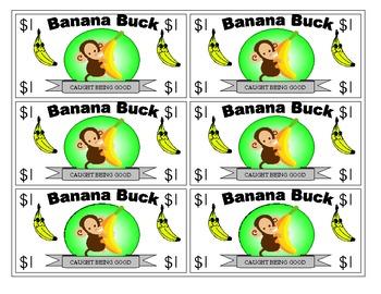 Good Job money (banana bucks)