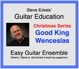 Good King Wenceslas - Christmas Guitar Ensemble, Guitar Trio