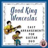 Christmas Music: Good King Wenceslas Guitar Duo